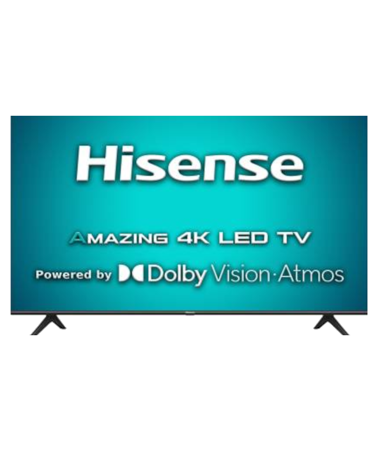 Hisense A71F 108 cm (43 inch) Ultra HD (4K) LED Smart Android TV with Dolby Vision & ATMOS(43A71F) OSSR-166536