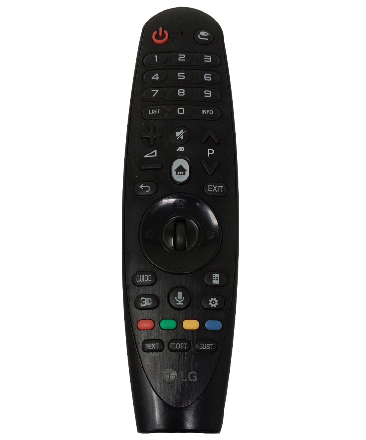 Preowned LG AN-MR19BA Television Remote Compatible with LG Smart LED/LCD/HD TV Remote Control